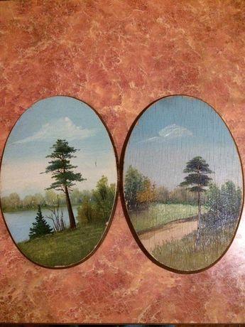 Продам деревянные  картины