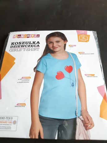 Koszulka dla dziewczynki