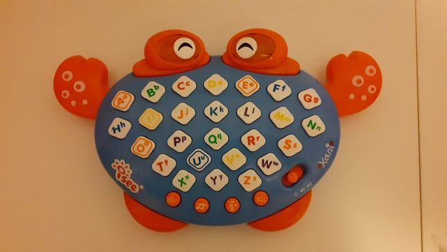 Brinquedo abecedário