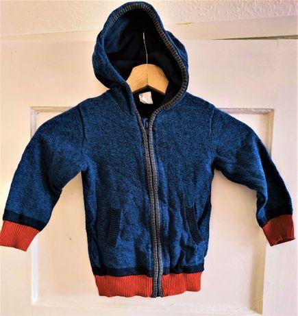 Rozpinany sweterek marki H&M rozmiar 92