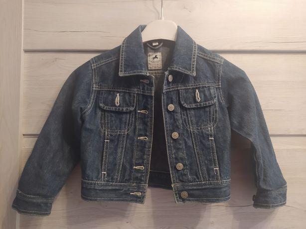Kurtka jeansowa roz 98