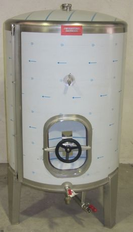 Cuba inox com porta lateral 550L NOVA
