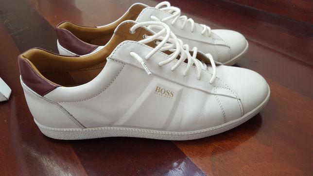 Tenis Brancos Hugo Boss