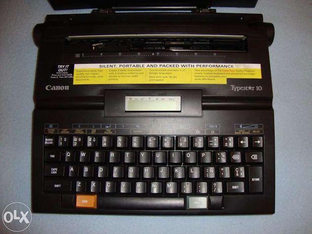 Máquina de escrever Canon