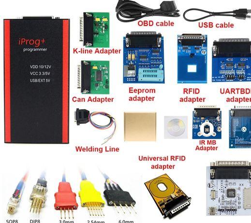 Iprog pro V86 programador IMMO Airbag e correção de Kmt Ultima versão.