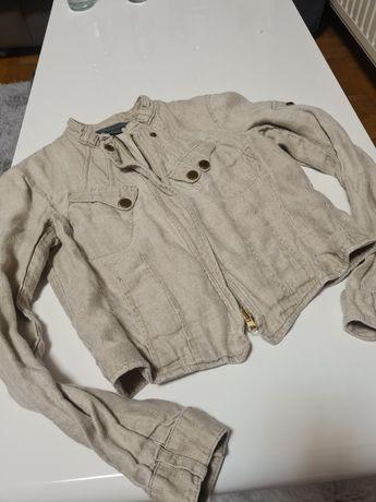 Kurtka Armani Exchange ramoneska jeansowa