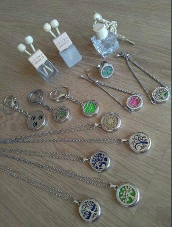Acessórios Aromaterapia (colar, anel, pulseira, porta chaves)