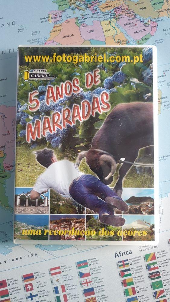 DVD 5 anos de marradas tourada corda Vila do Porto - imagem 1