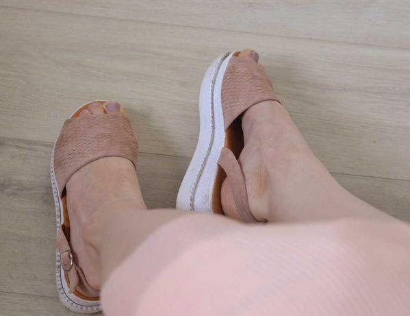 Босоножки, шлепки, шлепанцы, туфли, замшевые, танкетка, сандалии
