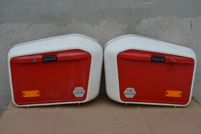 KRAUSER K2 kufry boczne 30 litrów komplet dwa kluczyki