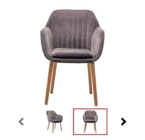 Cadeira conforama cinza
