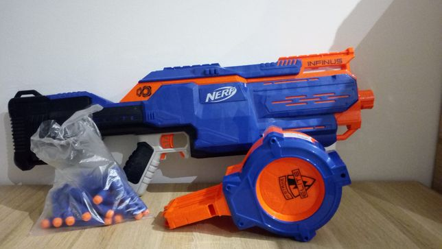 Wyrzutnia NERF N-Strike Elite Infinus