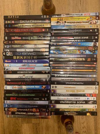 Подборка DVD дисков (48 шт+бонусы!)