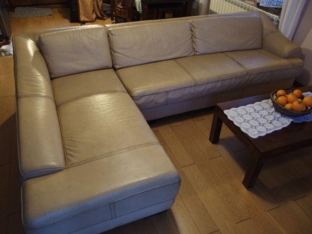 "Sofa,kanapa,narożnik+fotel,skóra naturalna.""KUKA"""