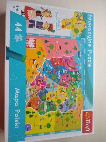 Sprzedam puzzle, 4 szt.