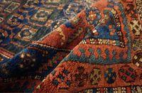 Tapete persa Malayer Kurde   Dim: 310cm - 130 cm   Período - 1950 - 19