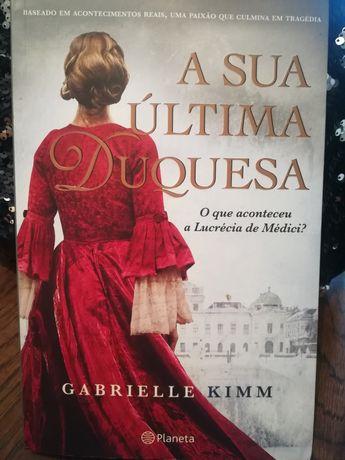 "Livro ""A Sua Última Duquesa"" de Gabrielle Kimm"