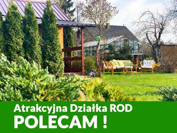 Atrakcyjna Działka Rekreacyjna ROD - ul.Ciołkowskiego - ZOBACZ !