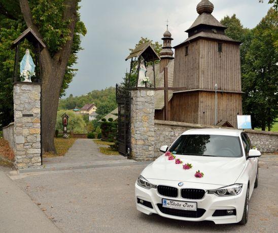 PIĘKNE EKSKLUZYWNE BMW F30 DO ŚLUBU ślub wesele samochód auto