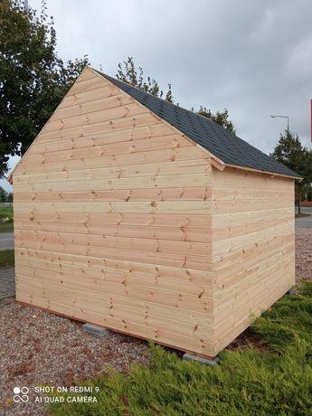Domek drewniany, narzędziowy