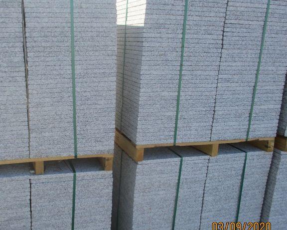 Mosaico em granito gris alba flamejado de primeira qualidade