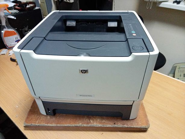 Лазерный принтер HP LaserJet 2015, заправлен 100%
