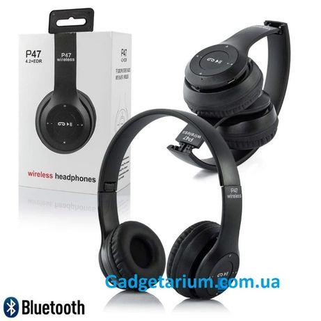 Беспроводные bluetooth наушники P47 MP3 / TF / микрофон / гарнитура