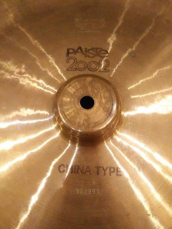 """Paiste 2002 chine type black - 18"""""""