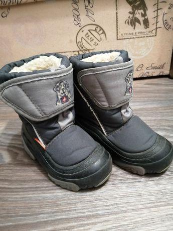 Детские зимние сапожки мальчику, Demar, сноубутсы, ботинки мальчику