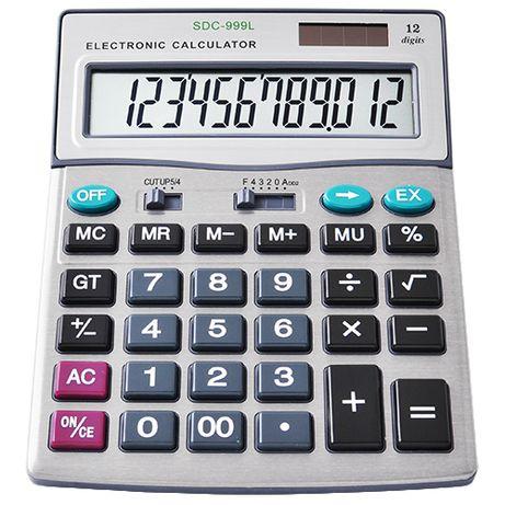Калькулятор Citizen 999, двойное питание. Новый!