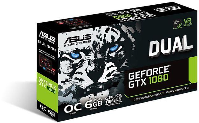 ASUS GTX 1060 6Gb - торг