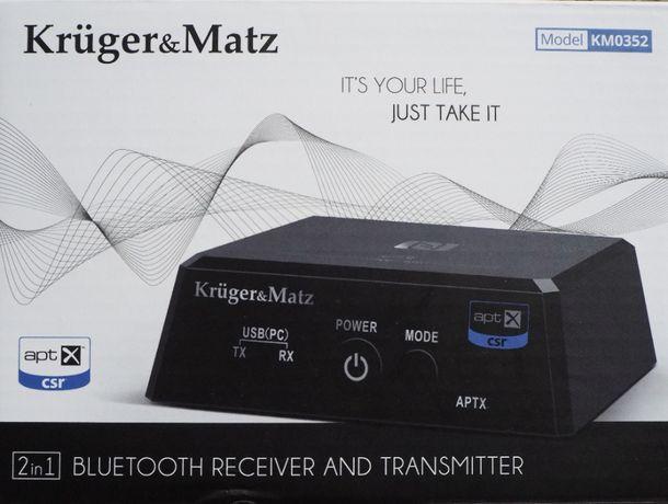 Nadajnik i odbiornik bluetooth Kruger&Matz KM0352 (2 w 1)