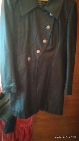 Куртка кожаная, лайка