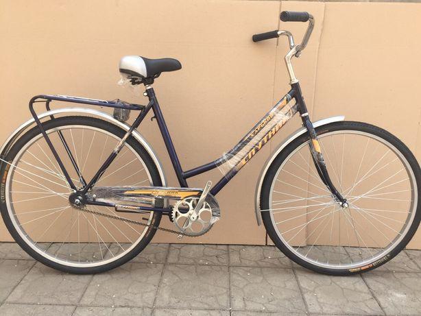 Велосипед дамский Спутник 28 чешка типа Украина женский