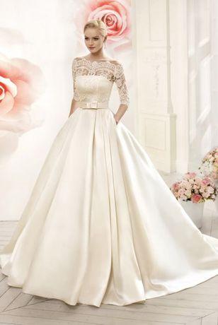 Шикарное свадебное платье !!!