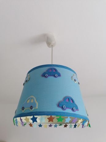 Lampa, lampa wisząca dla chłopca