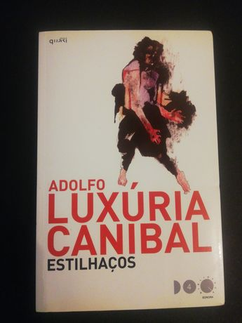 """""""Estilhaços"""" - Adolfo Luxúria Canibal *livro raro*"""