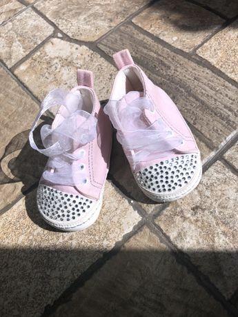Детские пинетки кеды ботиночки