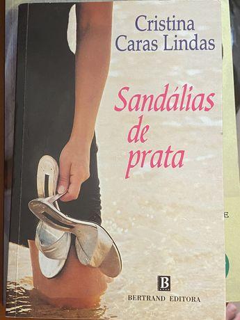 sandalias de prata cristina caras lindas