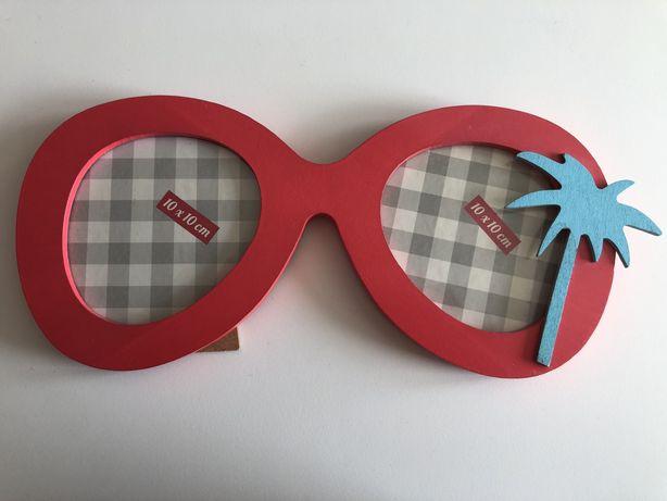 Ramka na zdjęcia okulary