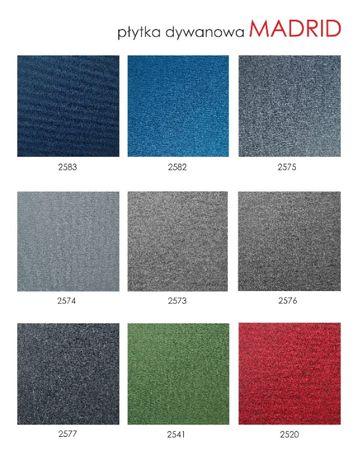Płytki dywanowe Madrid do Biura , Obiektowe W-wa Sklep Montaż