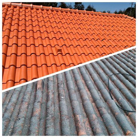 Limpeza de telhados desde 2€ m2