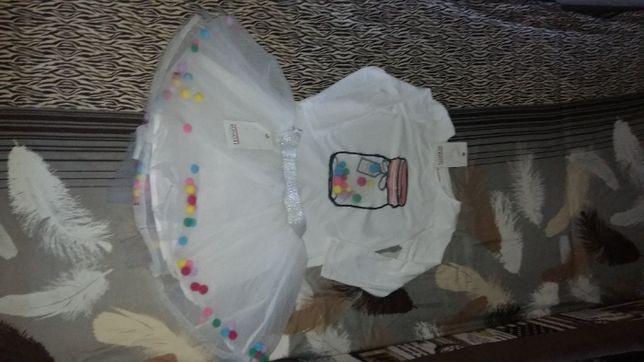 костюм Minoti юбка пачка новый 92рост