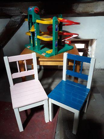 sprzedam stolik i dwa krzesełka