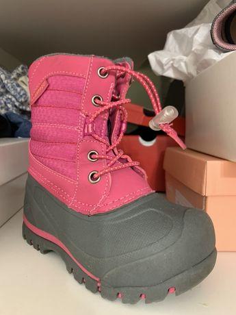Ботинки непромокаемые супертеплые