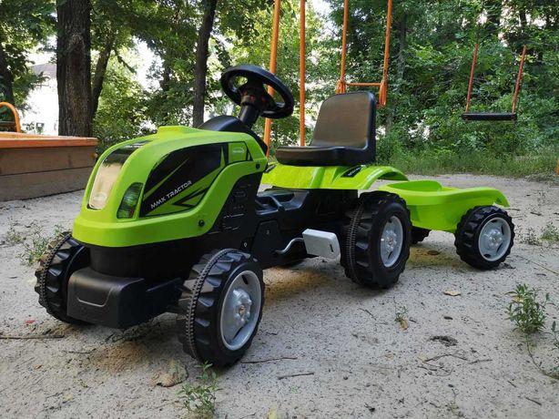 Турецький Педальний трактор / Трактор с прицепом на педалях