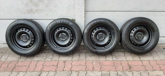 Koła Felgi 5x112 Vw Seat Skoda Audi Zima 195 / 65 / 15