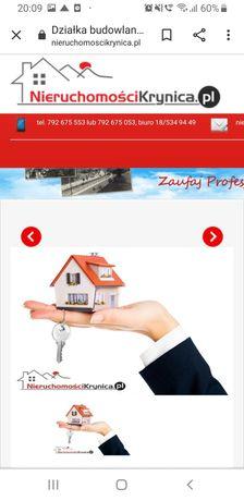 Sprzedam stronę internetową biura nieruchomości krynica  i domenę.
