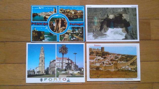 Postais Portugal várias cidades