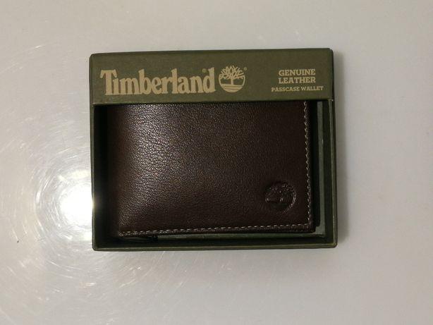 Portfel skórzany Timberland (nowy)